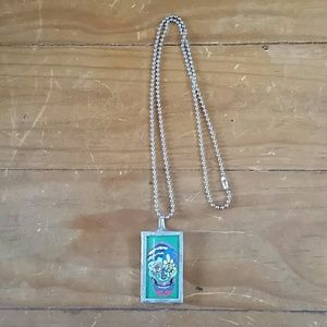 Jewelry - Reversible skeleton necklace